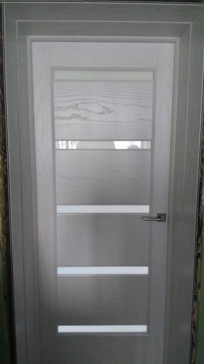 Межкомнатная дверь с двойным добром.